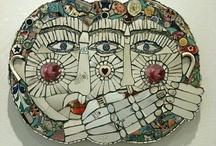 Folk Art Mosaic / by Ciel Gallery