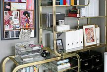 Office Design & Accessories / design and storage inspiration for the office / by Arica Rosenthal