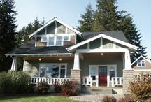 Home Design / Home exteriors, home design, porches, exterior colors, landscaping,  / by Becky Scott