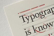 typography and design / by Courtney Clarke