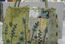 Embroidered bags  / by Jenny Boonham