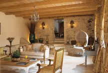 French Country Style / My home is a 1960's ranch style home my father built. French Country wouldn't really go very well with the 1960's house, but a girl can dream! / by Helen Davis