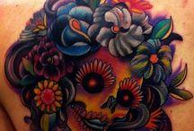 Sugar Skull / Candy Skull, dia de los muertos, day of dead / by Jéssica Machado