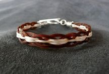 Tara's Equine Designs - Unique Horsehair Jewelry / Unique and affordable horsehair jewelry.  Buy from our stock or have custom jewelry made using your horse's hair. / by Tara's Equine Designs