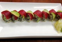 Sushi  / by 5 Napkin Burger