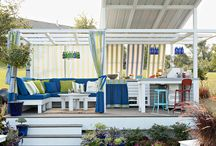 outdoor living space / by Elissa- One Stone Events