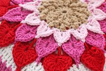 Crocheted Pillow covers / by Marie Hahn