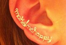 Ear Cuffs,Elf and Fairy ear cuffs / by Kathy Kate Rager Thornton