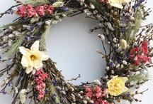 wreaths / by Ann Hutchings