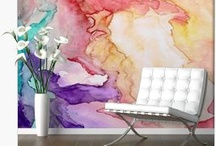 Murals / These wall murals are designed from my artwork and photographs. / by Rosie Brown