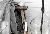 Wit met ... / wonen inrichten en stylen met wit.brocante meubels van www.old-basics.nl / by Old BASICS