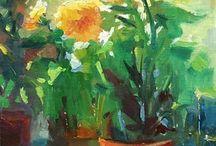 Art - Flowers / by Elena Sordo