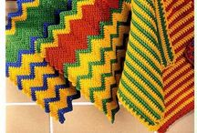 Crochet potholders, coasters and dishclothes / by Sun Kan