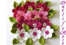 Crochet flowers / by Anny Hendriks