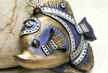 Polymer Clay Steampunk Creations / by MagicByLeah
