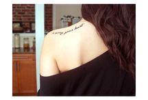 Oh how I love tattoos!  / by Amber Hisle