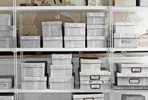storage ideas / by Amy Sides