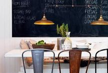 CHALKBOARD OBSESSED  / I am obsessed with the chalkboard craze!  / by Hannah {We Lived Happily Ever After}