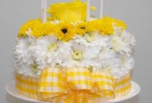 Birthday Flowers / Birthday treats don't have to be full of calories! Here are a few ideas! / by Jo Hudson