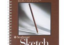 Drawing Pads & Books / by Venessa Dorantes
