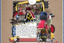 I Love Disney Scrapbook Inspiration / by Karen Balcanoff