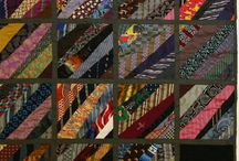 Quilts / Assorted quilts from ties. / by Kathy Mayfield Edwards
