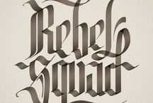 type design / by Lincoln Smith