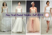 NY Bridal Market: 2014 / Coverage from the runways of Spring and Fall 2014 bridal market. / by Perfect Wedding Guide (National)