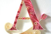 Quilling Letters / by Jan Howard