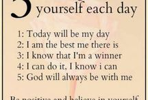Affirmations / My source of positive affirmations to keep me positively focused / by Jayme Hardyman