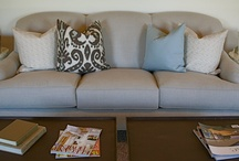 living & family room inspiration / by Christi @ Burlap and Basil