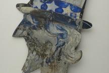 Americana / by Primitive Folk Artist Sue Corlett