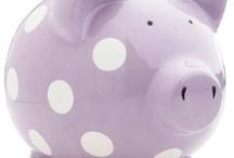 piggy banks / by Marianne Bondalapati
