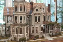 Doll House Miniatures ~ Houses, Gardens, Rooms / Everything to do with miniature doll houses, garden, individual decorated rooms....... / by Diane Willis