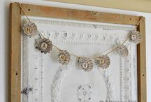 Decor: GARLANDS / Garlands, buntings, swags. Anything that is cute and that hangs on a string. / by Songbird Blog