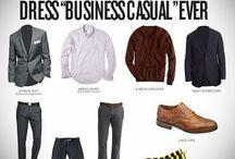 Men's Business Casual  / by Shawanda Robinson