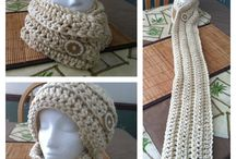 Crochet cowls/scarves / by Mirra Woods