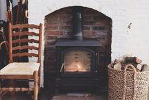 Cozy Up By The Fireplace / by Nancy Clarke Sass