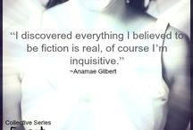 Quotes / by The Unofficial Addiction Book Fan Club