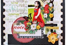 ✿Just layouts✿ / by Marinette Scrap