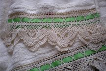 CRAFTS (CROCHET: BORDERS, EDGINGS & TRIMS) / JUST A SECTION OF THE CROCHET PATTERNS. / by JenisJewelryDesigns