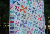 pinwheel quilts / by Cathy Chamberlin