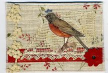 fabric postcards / by Judy Babbidge