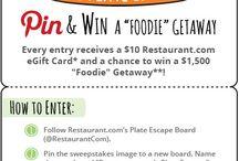 Restaurant.com's Plate Escape / by Jennie Sanderson