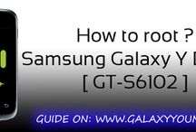 Samsung Galaxy Y DUOS GT-S6102 / by Ultimate Resource for your Samsung Galaxy device | ROMs, MODs, TWEAKs www.GalaxYYounG.Net