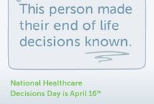 National Healthcare Decisions Day #NHDD / by Compassion & Choices