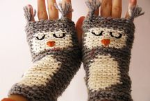 crocheted and knit things  / by DeAnna Woodard