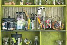 jars & bottles / by Kathy Bryson
