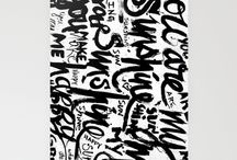 Brush script inspo / by Katarina Damm-Blomberg