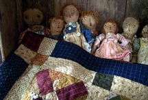 Primitive Dolls / by Lynda Hall